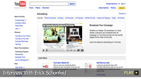 Erick Schonfeld on Google's Acquisition of YouTube