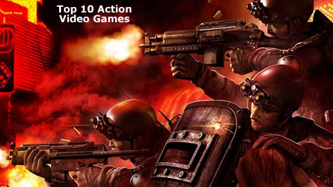 Top 10 Action Video Games (10-5)