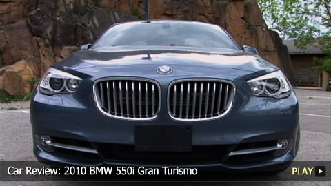 Test Drive: 2010 BMW 550i Gran Turismo