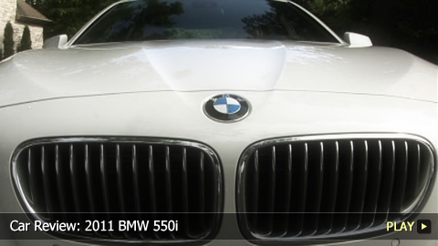 Test Drive: 2011 BMW 550i