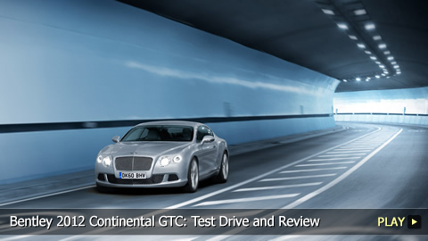 Bentley 2012 Continental GTC: Test Drive and Review