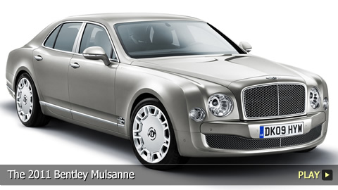 The 2011 Bentley Mulsanne