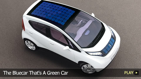 The Bluecar That's A Green Car