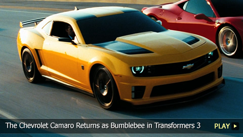 The Chevrolet Camaro Returns as Bumblebee in Transformers 3: Dark of the Moon