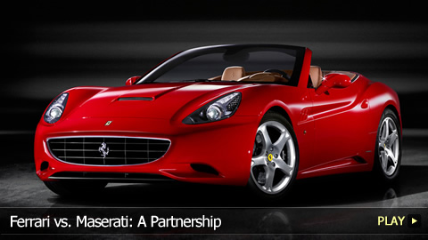 Ferrari vs. Maserati: A Partnership
