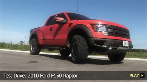 Test Drive: 2010 Ford F150 Raptor