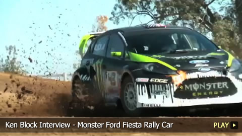Ken Block Interview - Monster Ford Fiesta Rally Car