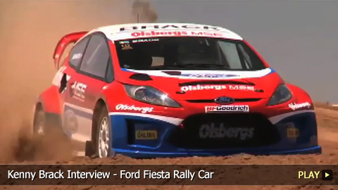 Kenny Brack Interview - Ford Fiesta Rally Car
