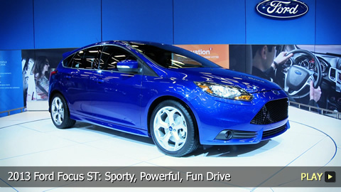 2013 Ford Focus ST: Sporty, Powerful, Fun Drive