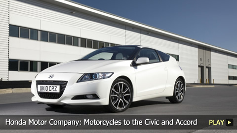 Honda Motor Company: Motorcycles to the Civic and Accord