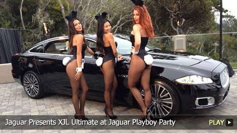 Jaguar Presents XJL Ultimate at Jaguar Playboy Party