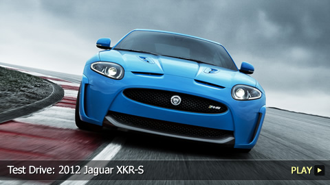 Test Drive: 2012 Jaguar XKR-S