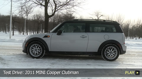 Test Drive: 2011 MINI Cooper Clubman