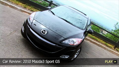 Test Drive: 2010 Mazda3 Sport GS