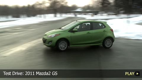 Test Drive: 2011 Mazda2 GS