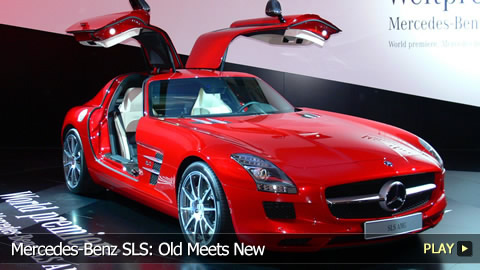 Mercedes-Benz SLS: Old Meets New