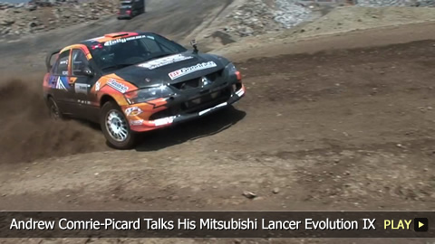 Andrew Comrie-Picard Talks His Mitsubishi Lancer Evolution IX