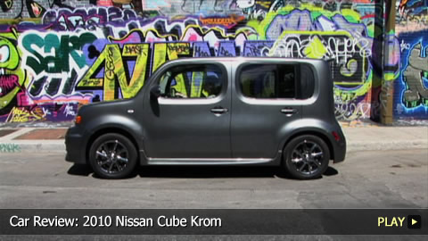 Test Drive: 2010 Nissan Cube Krom
