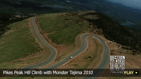 Pikes Peak Hill Climb with Monster Tajima 2010