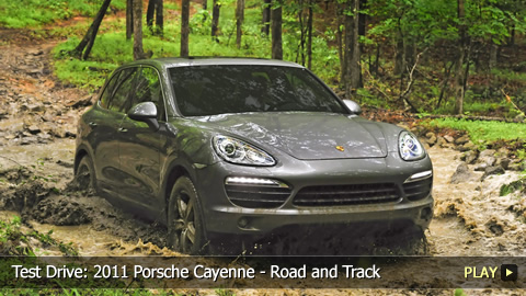 Test Drive: 2011 Porsche Cayenne - Road and Track