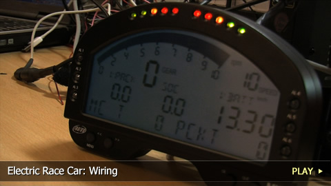 Electric Race Car: Wiring