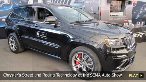 Chrysler's Street and Racing Technology Brand at the SEMA Auto Show
