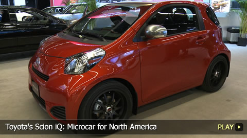 Toyota's Scion iQ: Microcar for North America