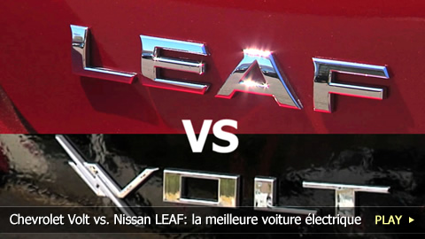 Chevrolet Volt vs. Nissan LEAF: la meilleure voiture lectrique