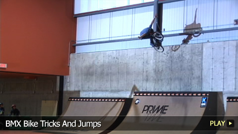 BMX Bike Tricks And Jumps