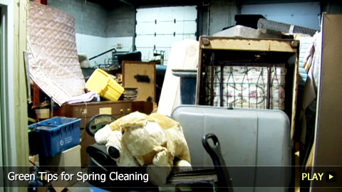 Green Tips for Spring Cleaning