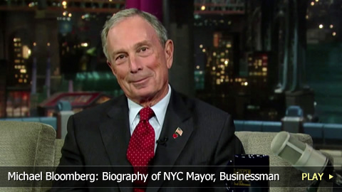 Michael Bloomberg: Biography of NYC Mayor, Businessman