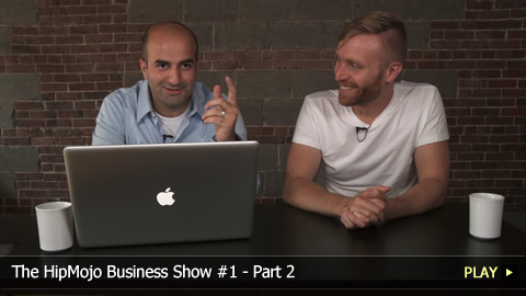 The HipMojo Business Show 1B - VC Impact on CEOs