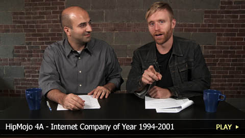 HipMojo 4A - Internet Company of Year 1994-2001