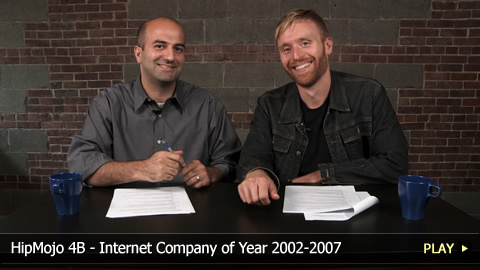 HipMojo 4B - Internet Company of Year 2002-2007