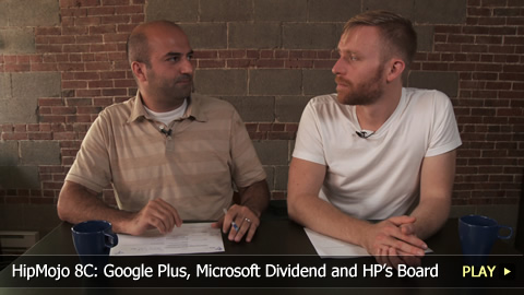 HipMojo 8C: Google Plus, Microsoft Dividend and HP's Board