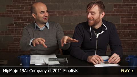 HipMojo 19A: Company of 2011 Finalists