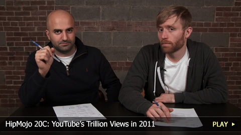HipMojo 20C: YouTubes Trillion Views in 2011
