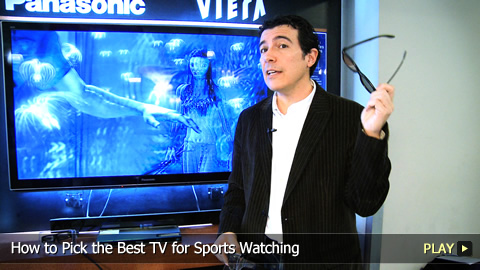 How to Pick the Best TV for Sports Watching