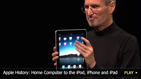 Apple History: the Home Computer to the iPod, iPhone and iPad