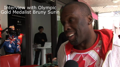 Interview with Olympic Gold Medalist Bruny Surin
