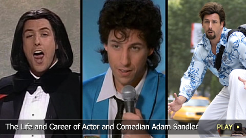 life and career of adam sandler Et is celebrating the film's anniversary by looking back at what adam sandler and drew barrymore had to say about working together the film also marked a pivotal moment in barrymore's life and career fresh off her infamous performance in scream.