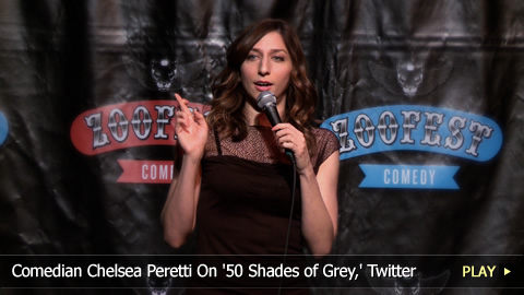 Comedian Chelsea Peretti On '50 Shades of Grey,' Twitter