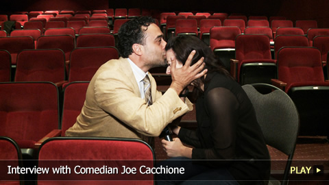 Interview with Comedian Joe Cacchione