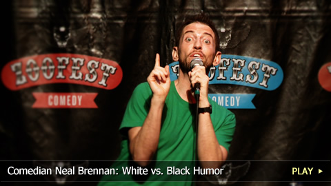 Comedian Neal Brennan: White vs. Black Humor