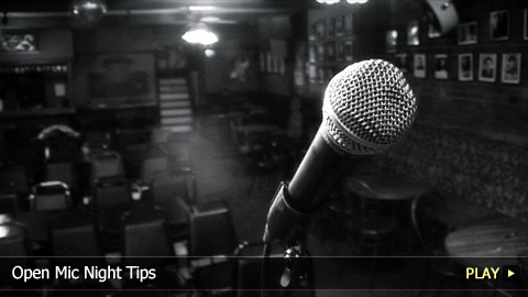 Open Mic Night Tips