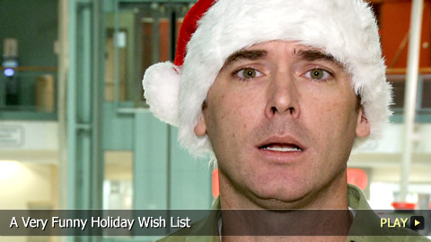 A Very Funny Holiday Wish List