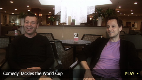 Comedy Tackles The World Cup