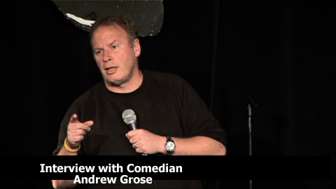 Interview With Comedian Andrew Grose