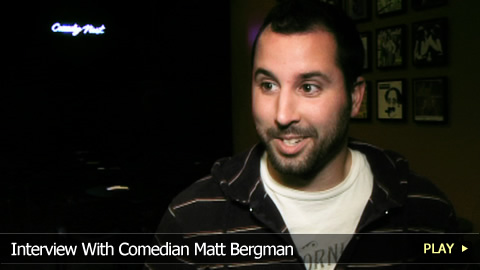 Interview With Comedian Matt Bergman