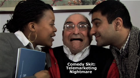 Comedy Skit: Telemarketing Nightmare